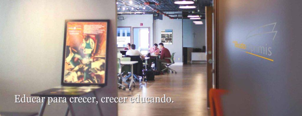Oficina fundación Educatio Imprimis